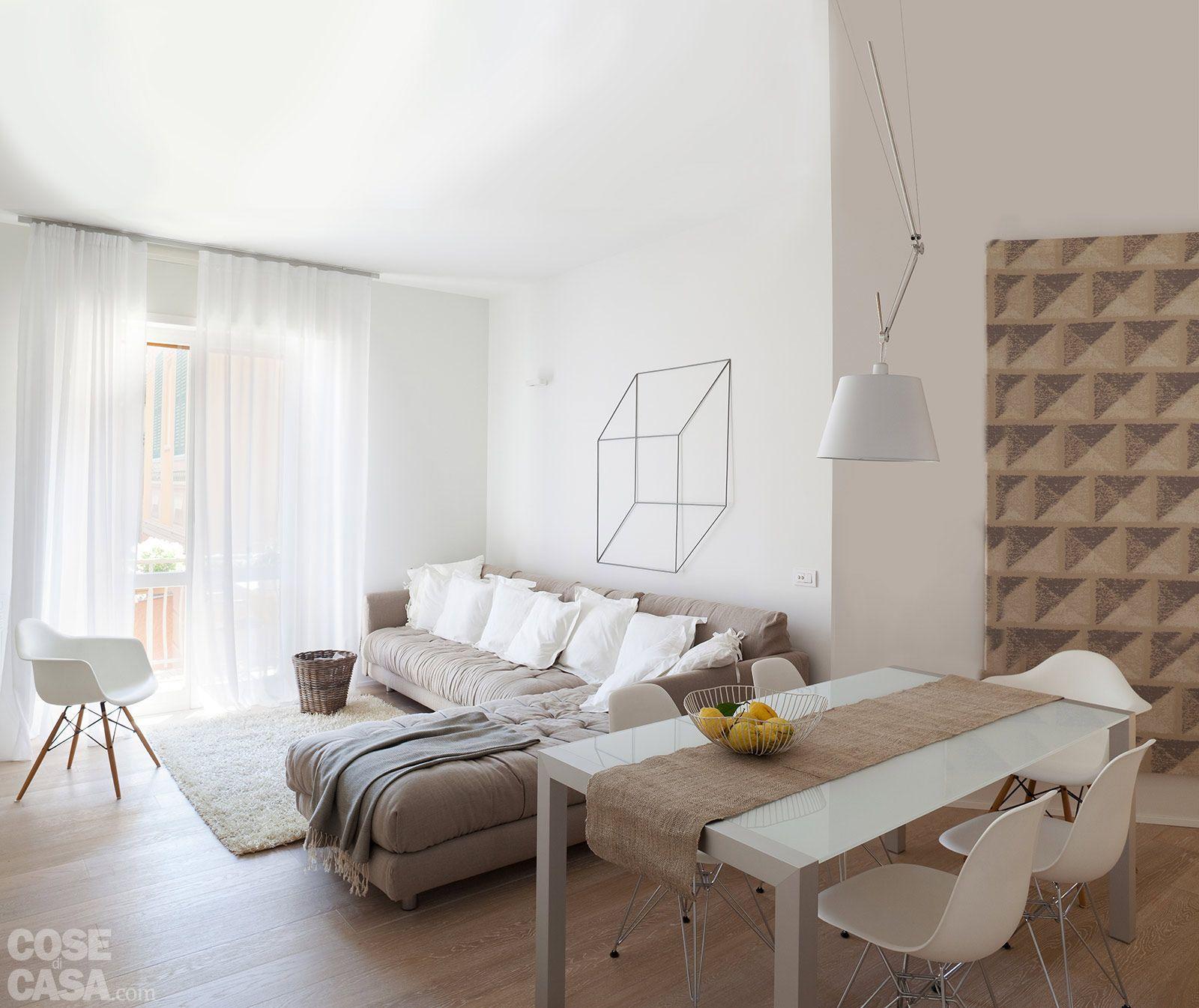 mq idee per far sembrare più grande la casa living rooms