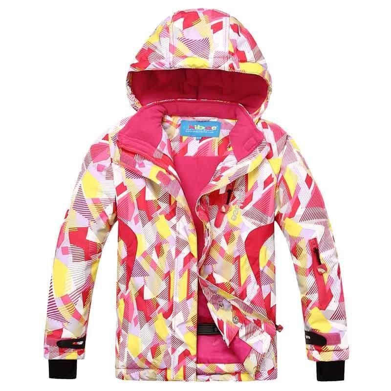 7ecb35f6e Detector Waterproof Snowboard Jackets Outdoor Girl Ski Jacket Kids ...