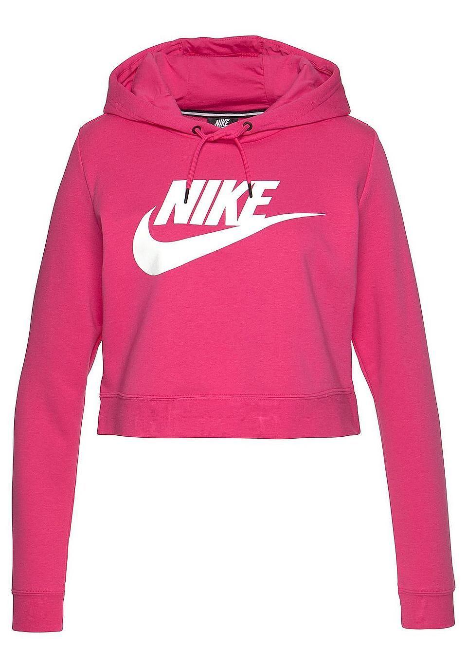 competitive price 70742 305d6 Nike Sportswear Kapuzensweatshirt »W NSW RALLY HOODIE CROP ...