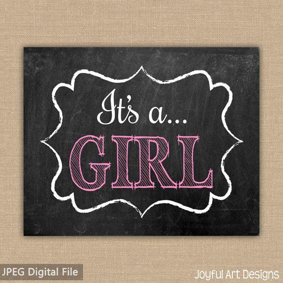 it s a girl announcement ideas