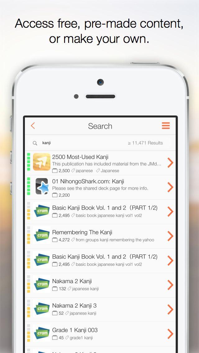 iPhone App AnkiApp Flashcards | Education | Productivity | **** | 4