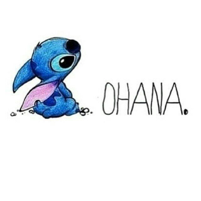 stitch ohana quote wallpaper - photo #19
