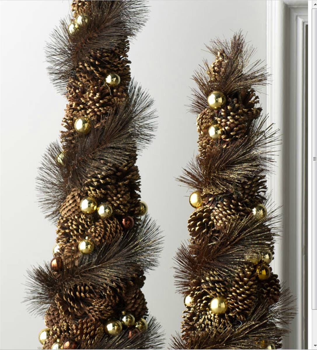 Perennial passion pinecone christmas decor all things Homemade christmas decorations using pine cones