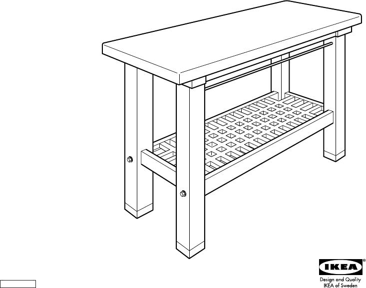 GROLAND KITCHEN ISLAND 47X35 | Ikea