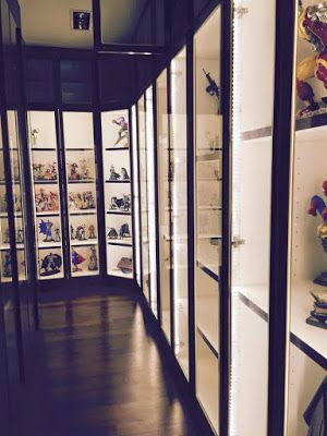Led Lighting Display Cabinet