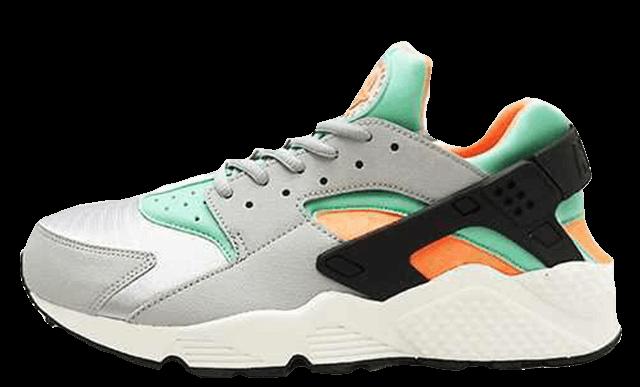 online store af2fa 690a9 Green Orange | Huraches | Sneakers nike, Nike air huarache ...