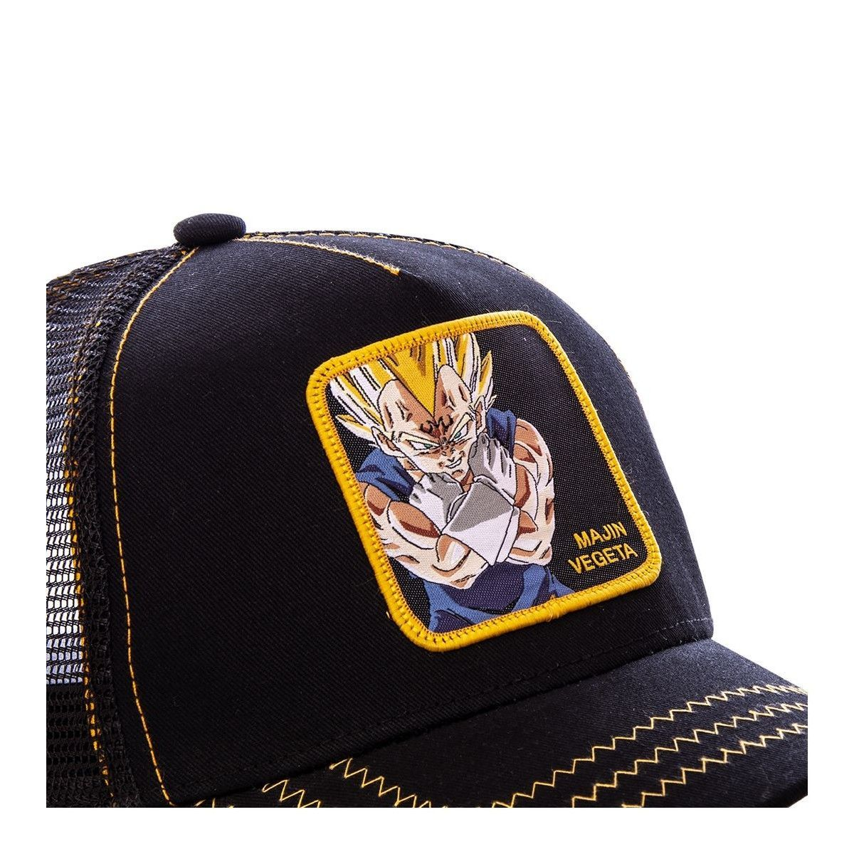 many styles good looking best authentic Casquette Dragon Ball Z Majin Vegeta Couleur - Noir, Taille ...