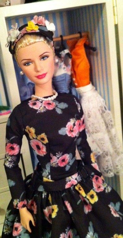 Grace Kelly Barbie Doll Dress Barbie Dolls Barbie Collection