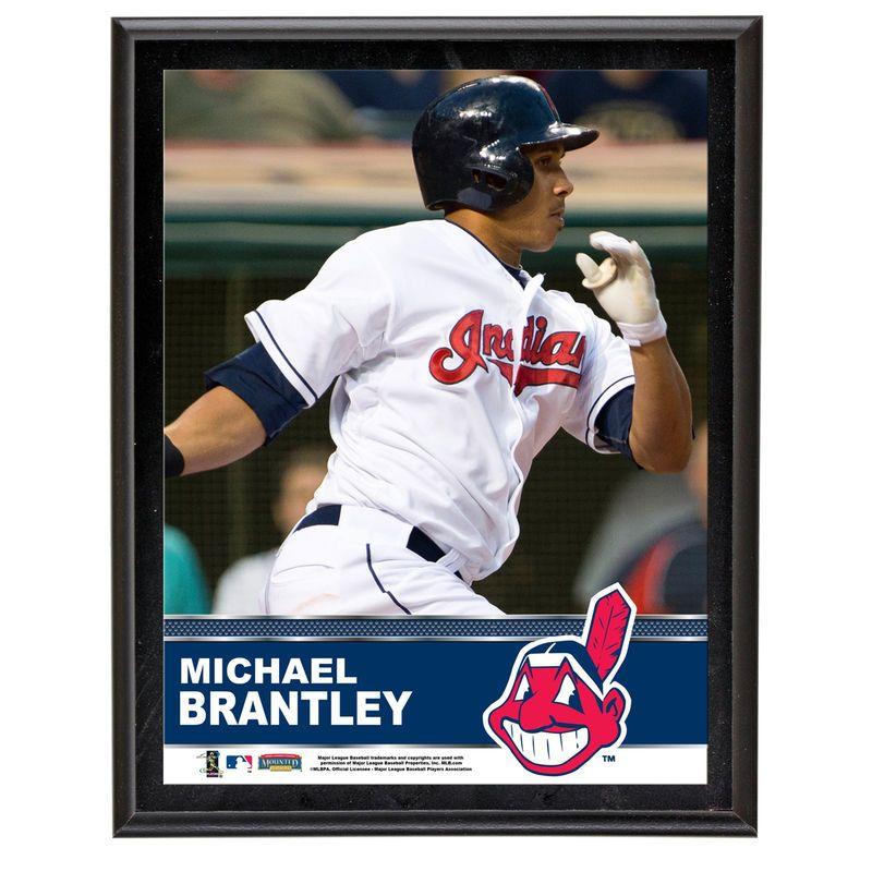 Michael Brantley Cleveland Indians Fanatics Authentic 10.5