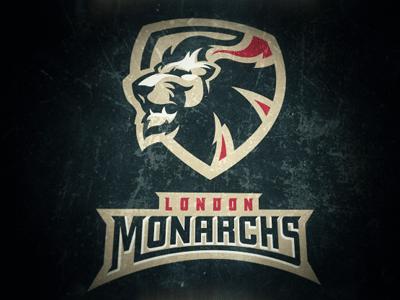 London Monarchs 3 Sports Logo Inspiration Sports Graphic Design Sports Logo Design