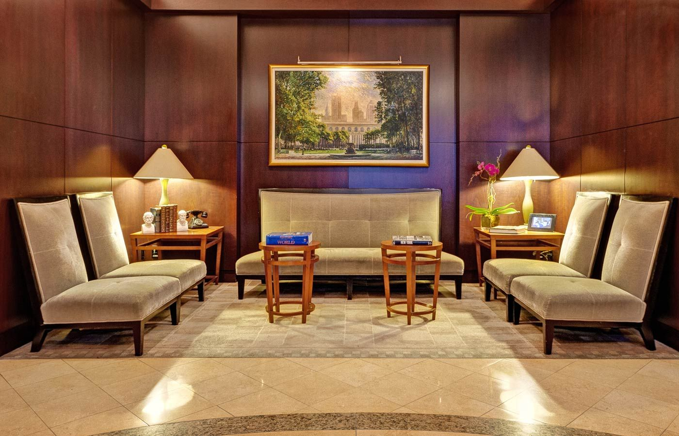 The Library Hotel New York   Official Site   Best Luxury Boutique Hotel  Manhattan   2014