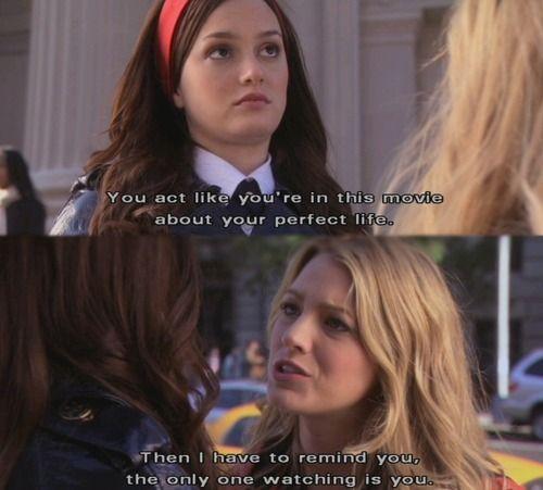 gossip girl friendship quotes blair serena