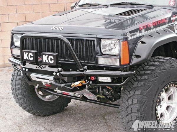 1996 Jeep Cherokee Xj or Fab Modular Front Bumper Photo 36206957