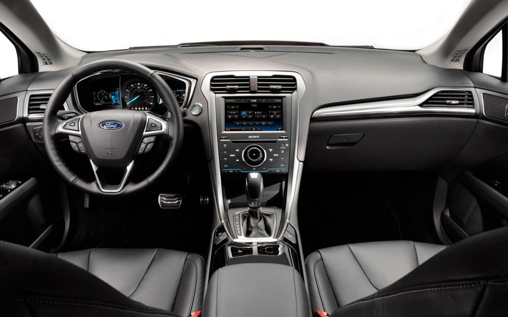 The Interior Of The New 2013 Ford Fusion Via Motortrend Com
