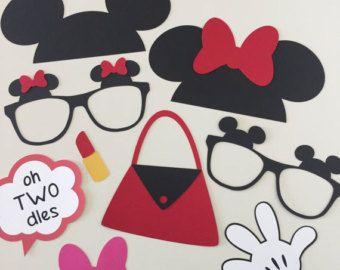 Apoyos de la cabina de la foto de Minnie Mouse por JCBelleCreations