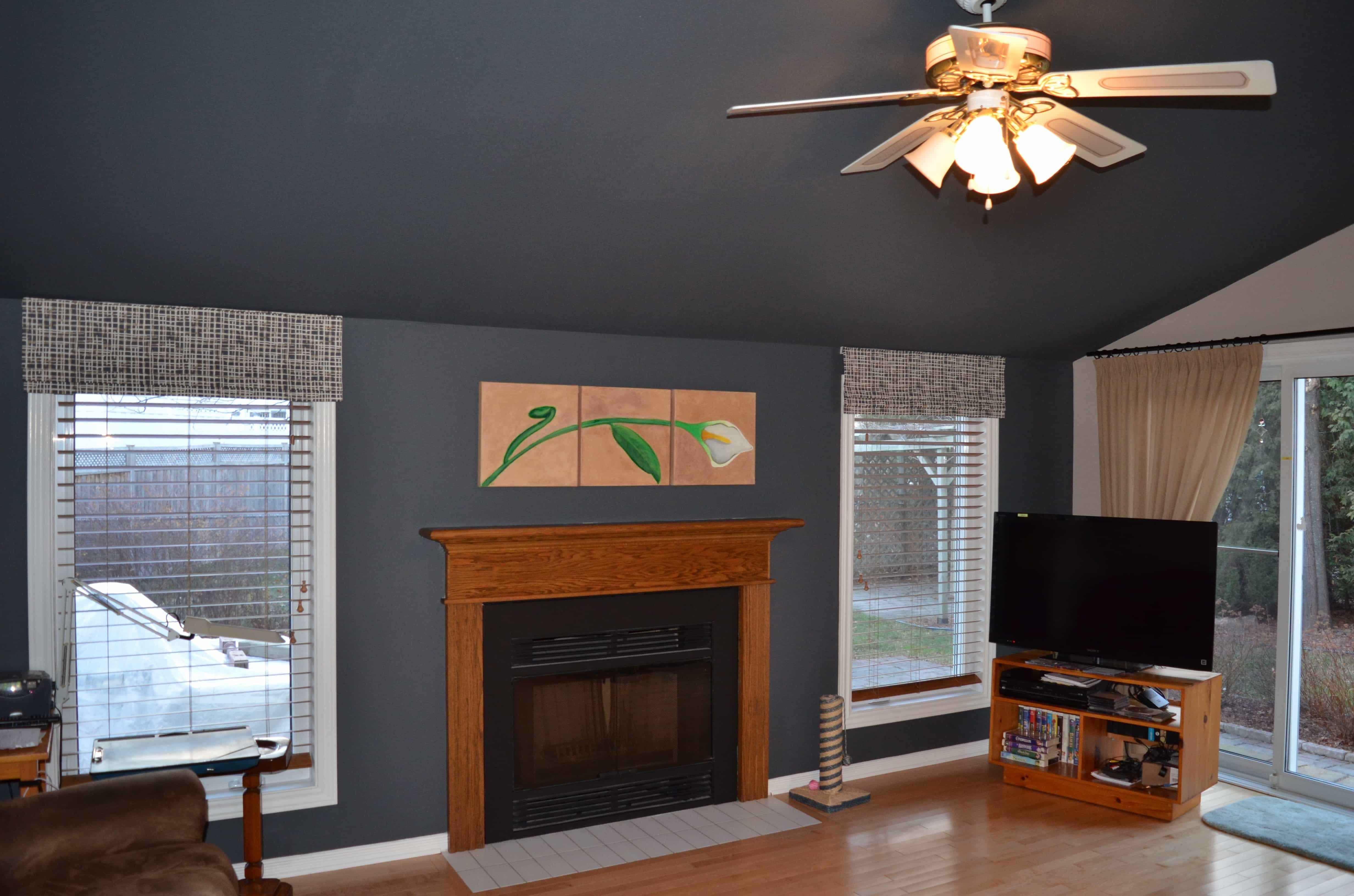 Orleans Residence Flawless Space Low Ceiling Ceiling Paint Colors Painted Ceiling