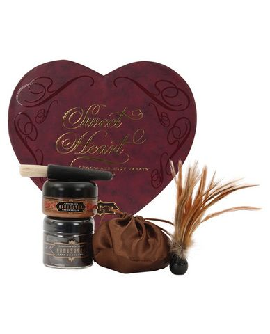 kama sutra sweet heart gift set for lovers