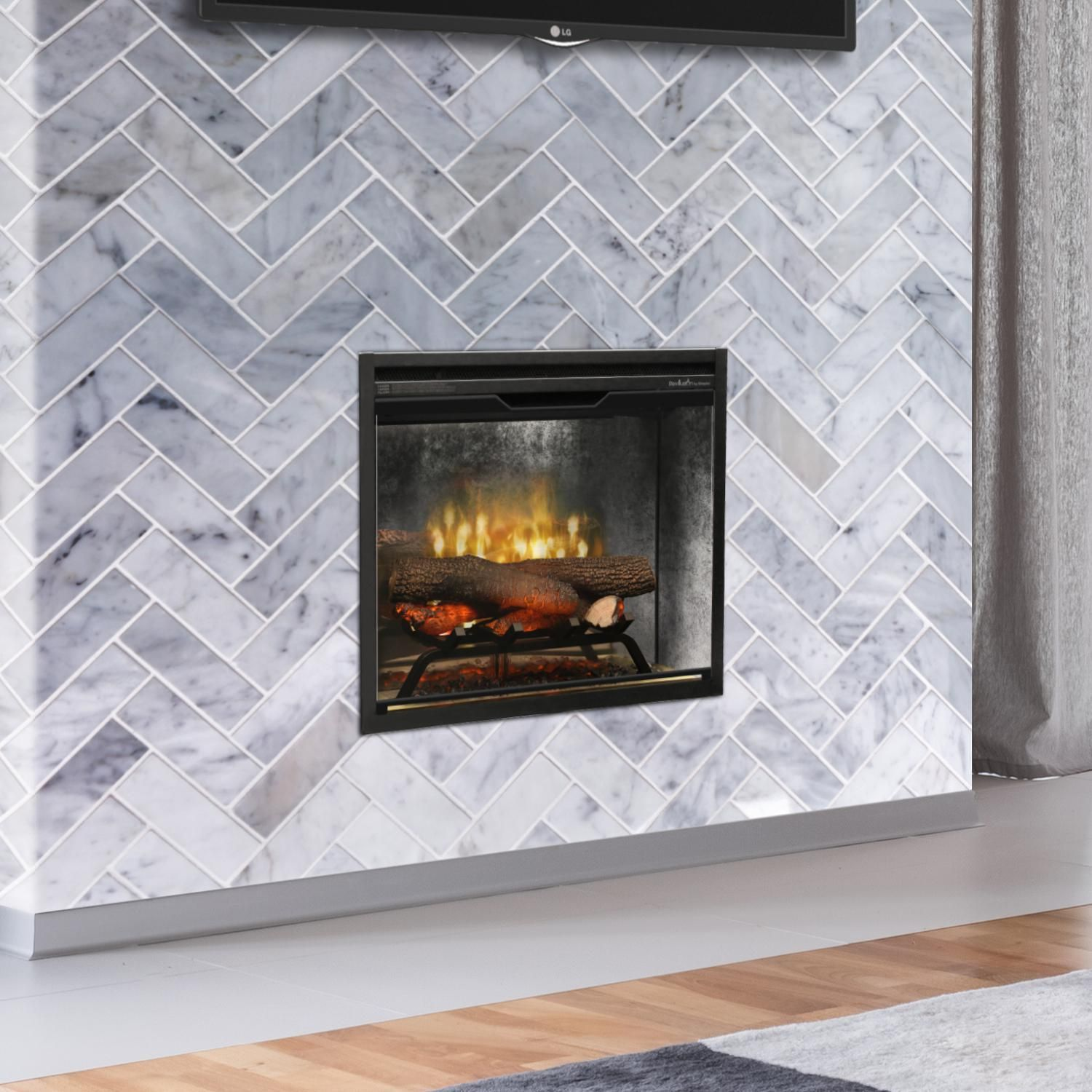 Dimplex Rbf24dlxwc Revillusion 24 Inch Built In Electric