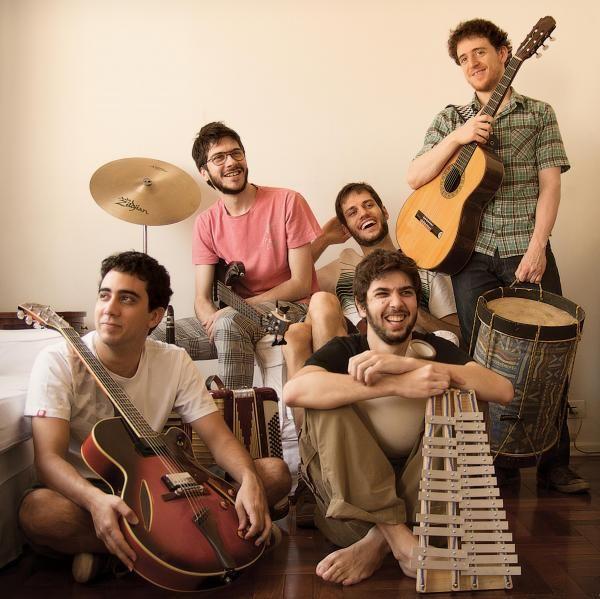 5 A Seco Cantores Banda Cantor Brasileiro
