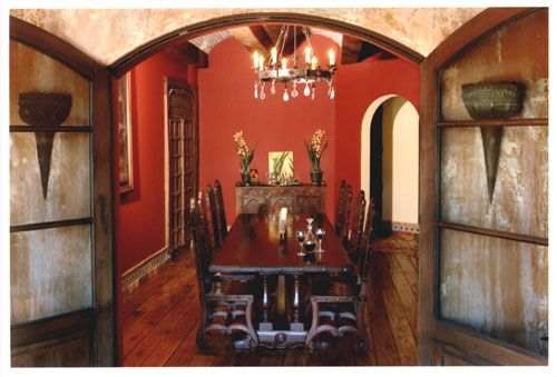 Renaissance Architectural  Spanish Colonial Revival Furniture And Delectable Spanish Dining Room Table Decorating Inspiration