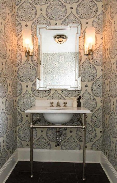 Lotus Wallpaper in Smoke | Galbraith & Paul