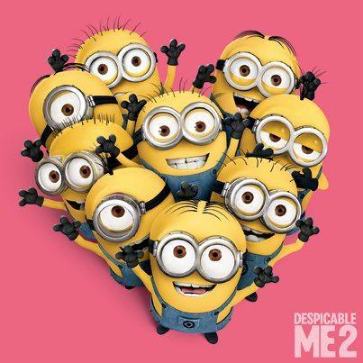 Minions Despicable Meneed To Smile Watch Minions   Minions Valentine