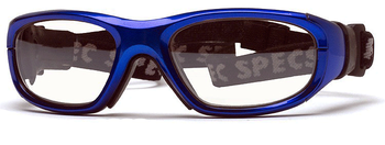 2dcacc45eede Rec Specs Maxx 21 Blue Prescription Sports Goggles for kids soccer  basketball…