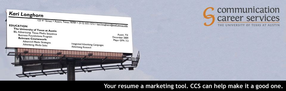 Visit CCS or check out our online resume guide to perfect your - how to perfect your resume