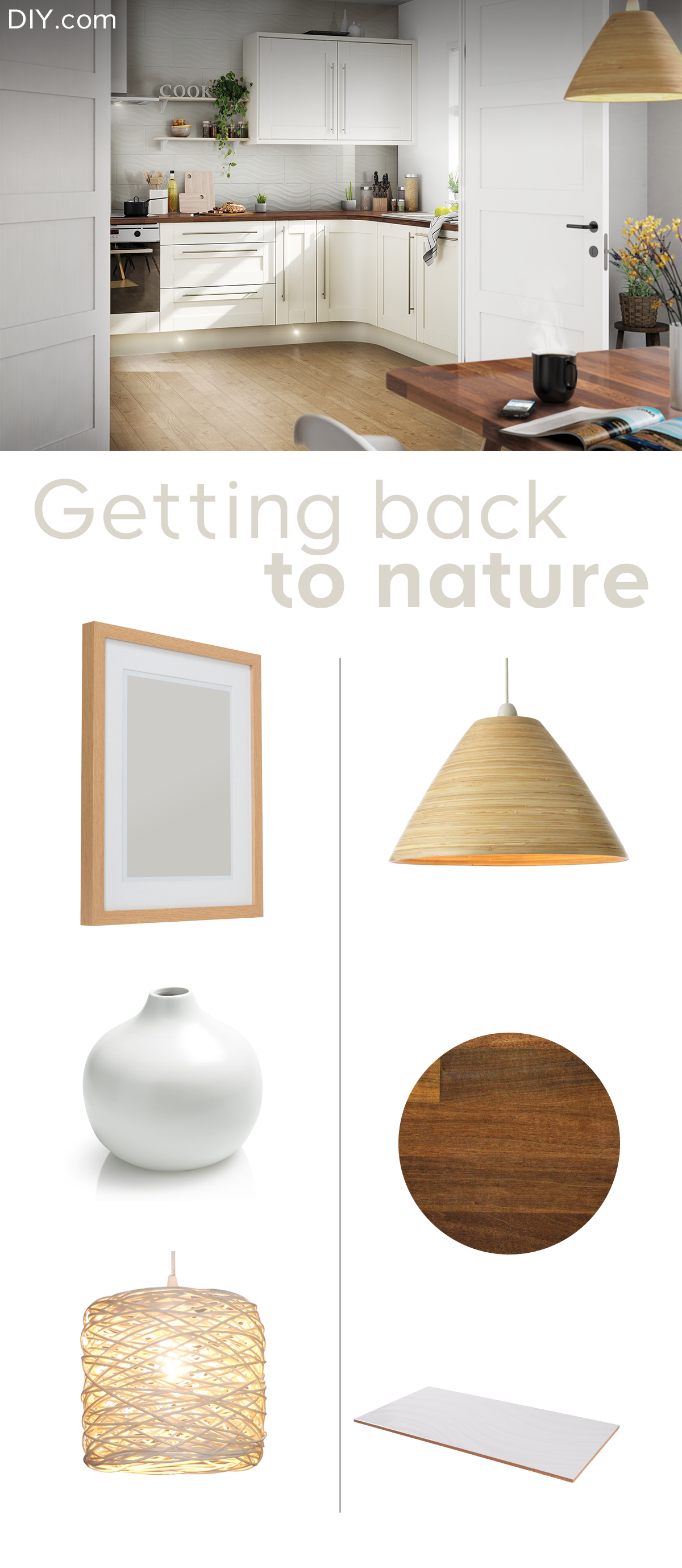 Achieve that back to nature by using sustainable products and ...