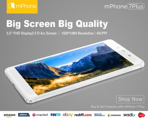 #mPhone7plus: Bigger Screen Beautiful image quality to your mPhone #smartphone#android #androiddev #Hddisplay  www.mphone.org