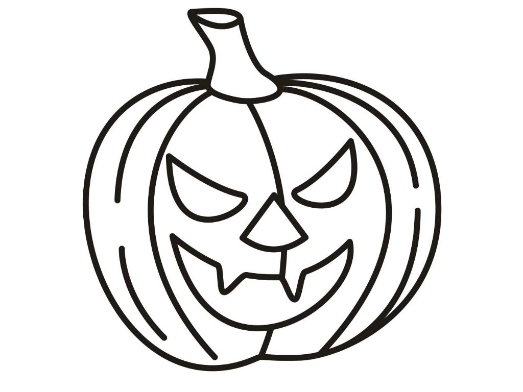 Free Printable Pumpkin Coloring Pages For Kids | Free printable and ...