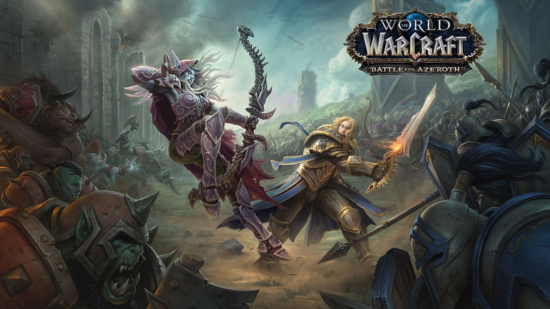 World Of Warcraft Battle For Azeroth Hd Wallpaper World Of