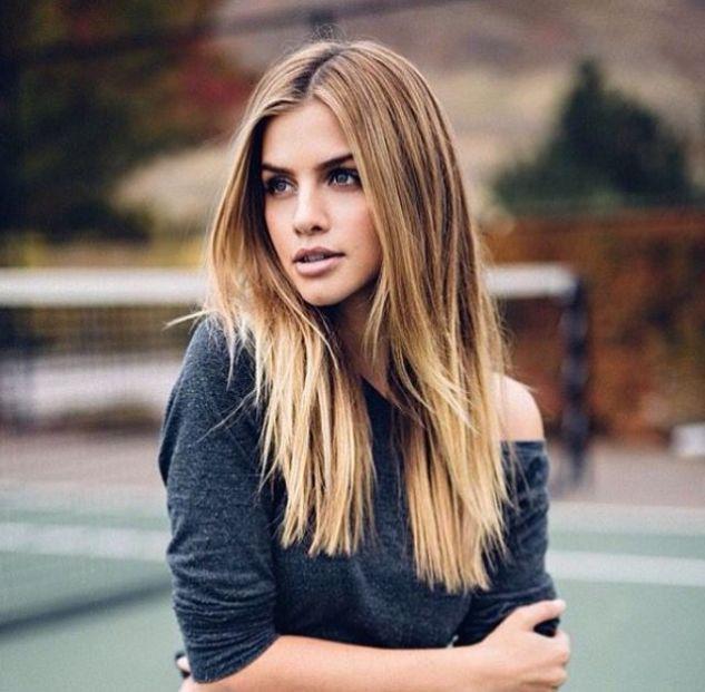 Tunsori Par Drept Lung Stiluri Urbane Pinterest Hair Hair