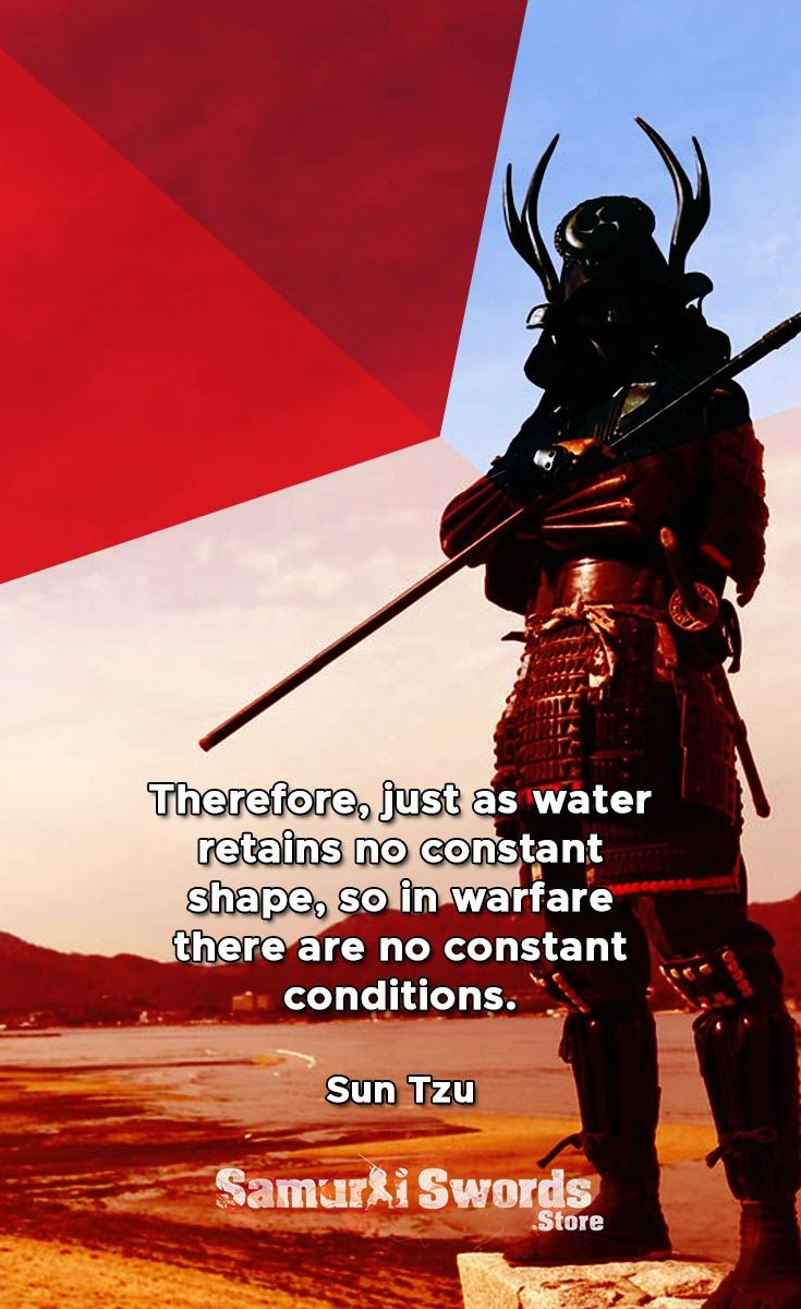 Therefore, just as water retains no constant shape, so in