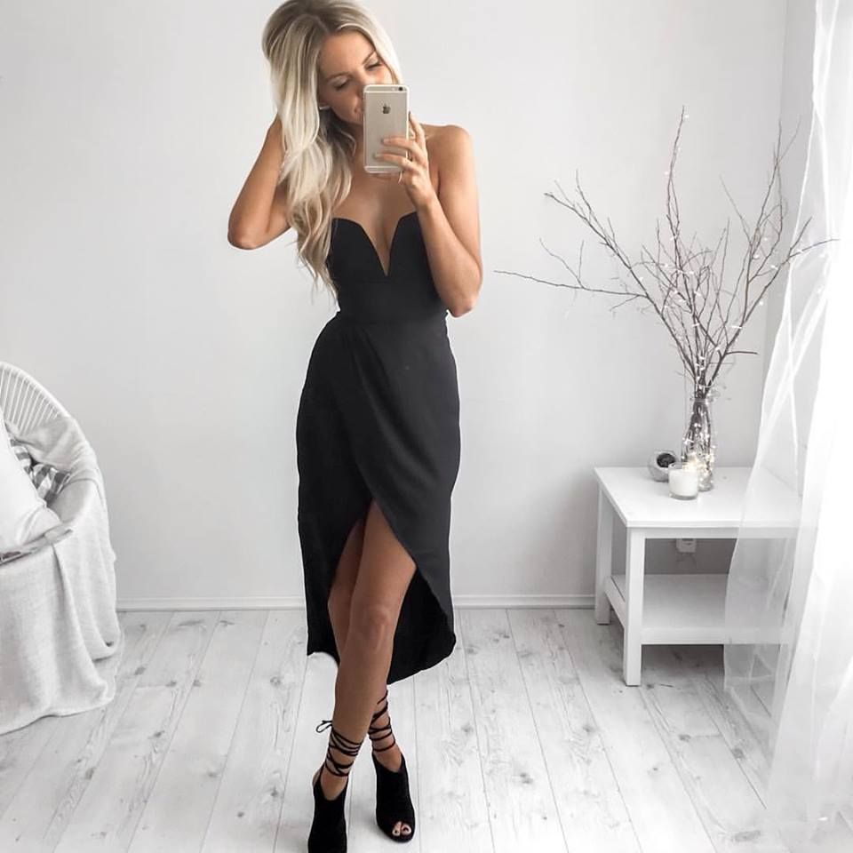 Black dress kirsty fleming outfits pinterest black classy and