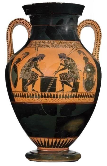 Amphore Bilingue Periode Archaique Vers 525 520 B C Peintre D