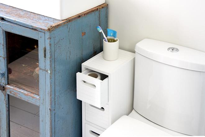 Bathroom Utilities Furniture For Small Spaces Bathroom Chest White Futon