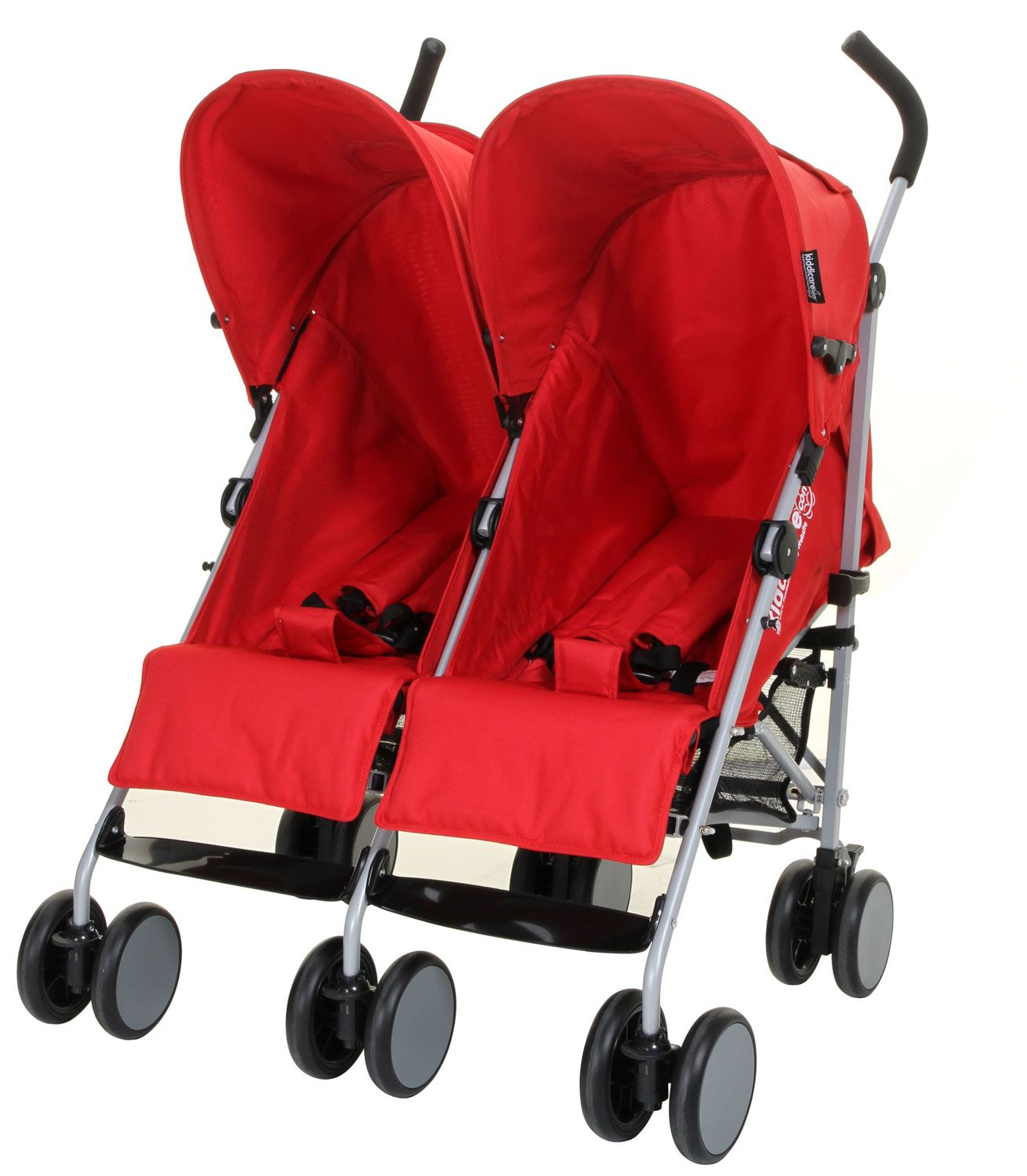 kiddicare twin pushchair double buggy travel car. Black Bedroom Furniture Sets. Home Design Ideas