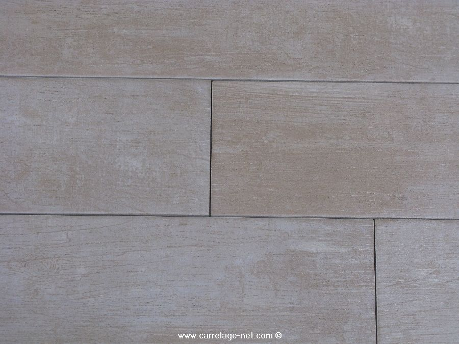 Carrelage parquet timber white beige en latte de 15x60 for Carrelage 45x45 beige