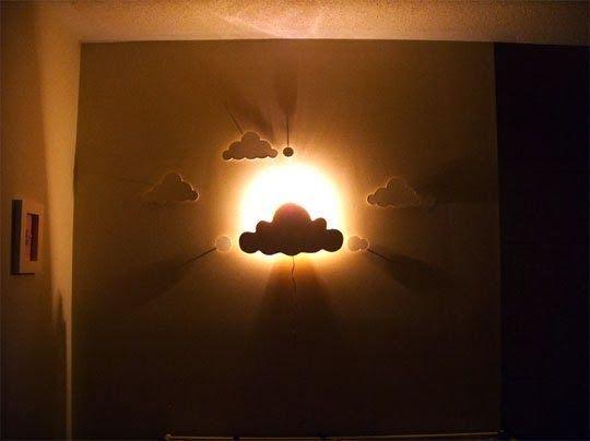 Ma maison au naturel: Fabriquez une lampe nuage pour la chambre de votre enfant