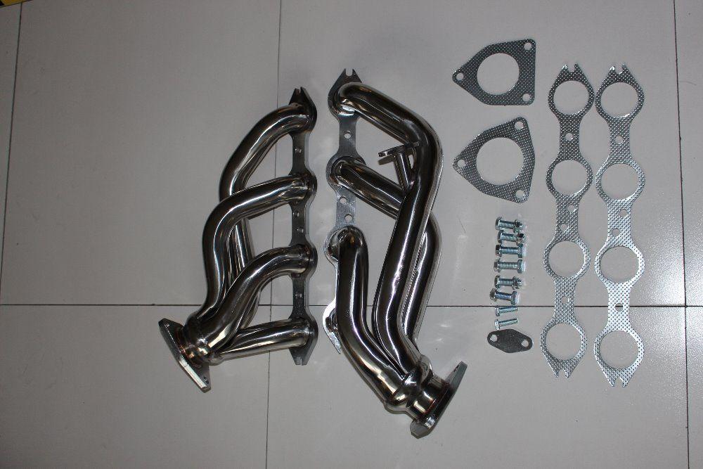 Exhaust header for 99-01 Chevy GMC Silverado Sierra V8 4.8L 5.3L Shorty Headers