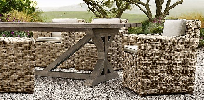 Restoration Hardware · RHu0027s Dining Collections