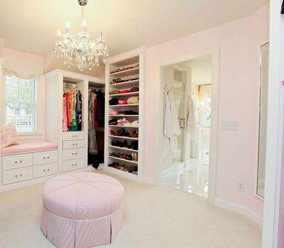 pretty pink closet Dream closet design, Closet designs