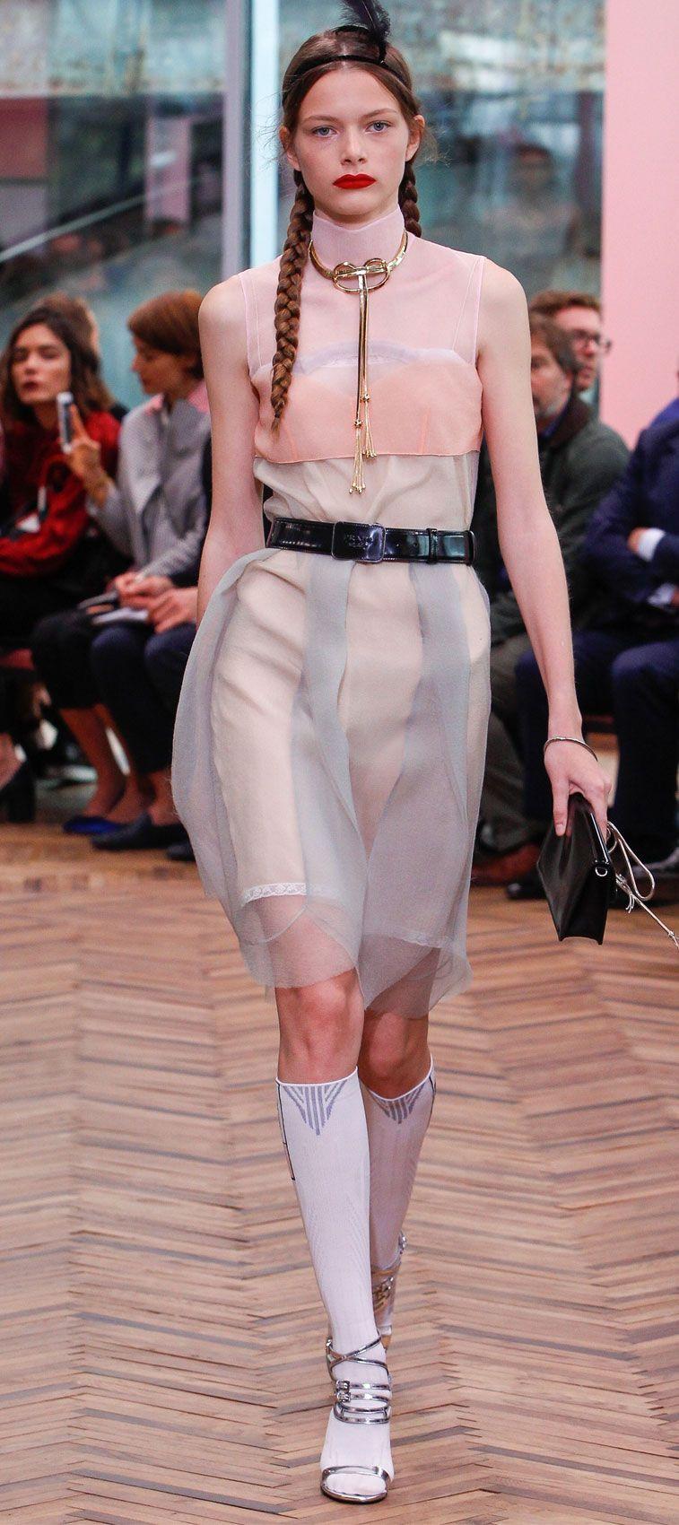 Prada Resort 2018 womenswear - Fashion show ,men fashion , summer fashion ,summer outfit ,summer wear on trends #fashion #runway #resort2018