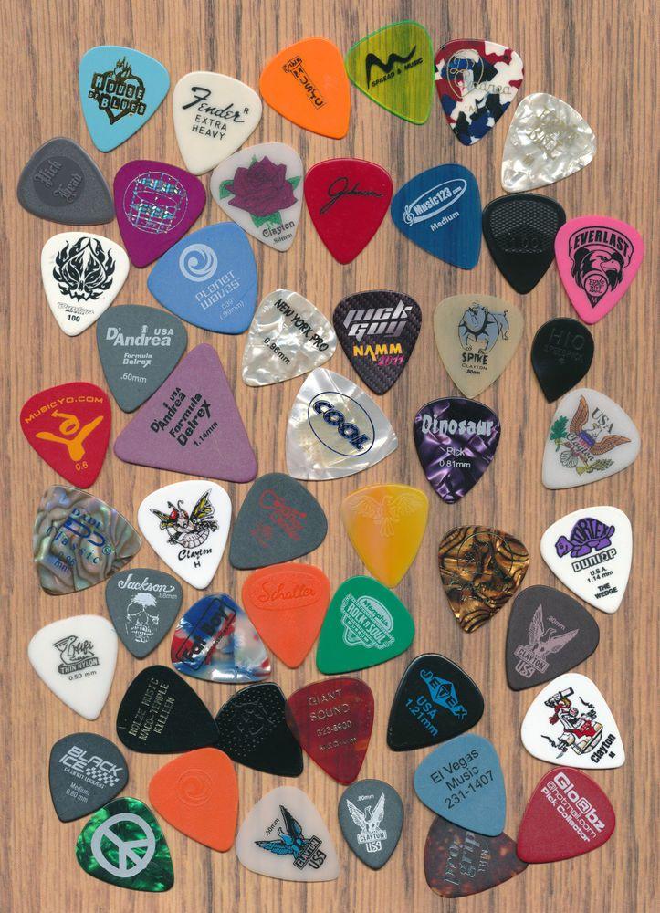 50 guitar picks  (large lot 28)  #GuitarPicks