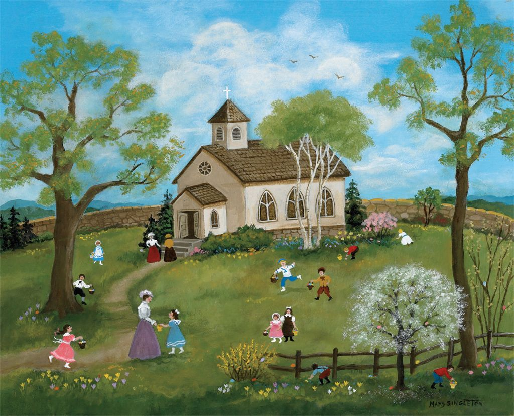 Pin by K. Waite on Figtree Folk | Folk art, Naive art, American folk art