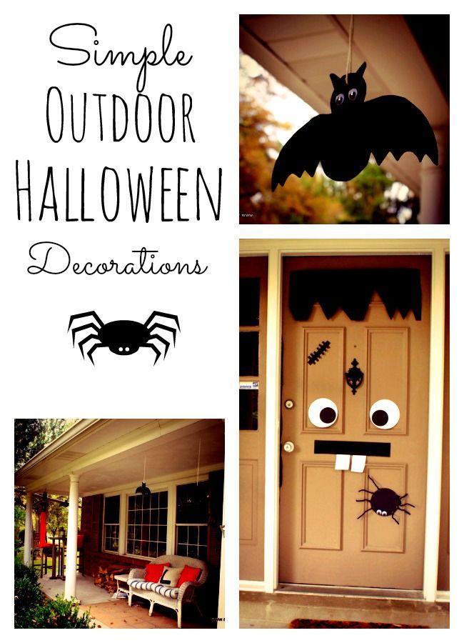 Hallowen Door and Horror Story Outdoor halloween decorations - halloween decorations to make at home for kids