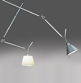 Ceiling Suspended Luminaire For Adjustable Directional