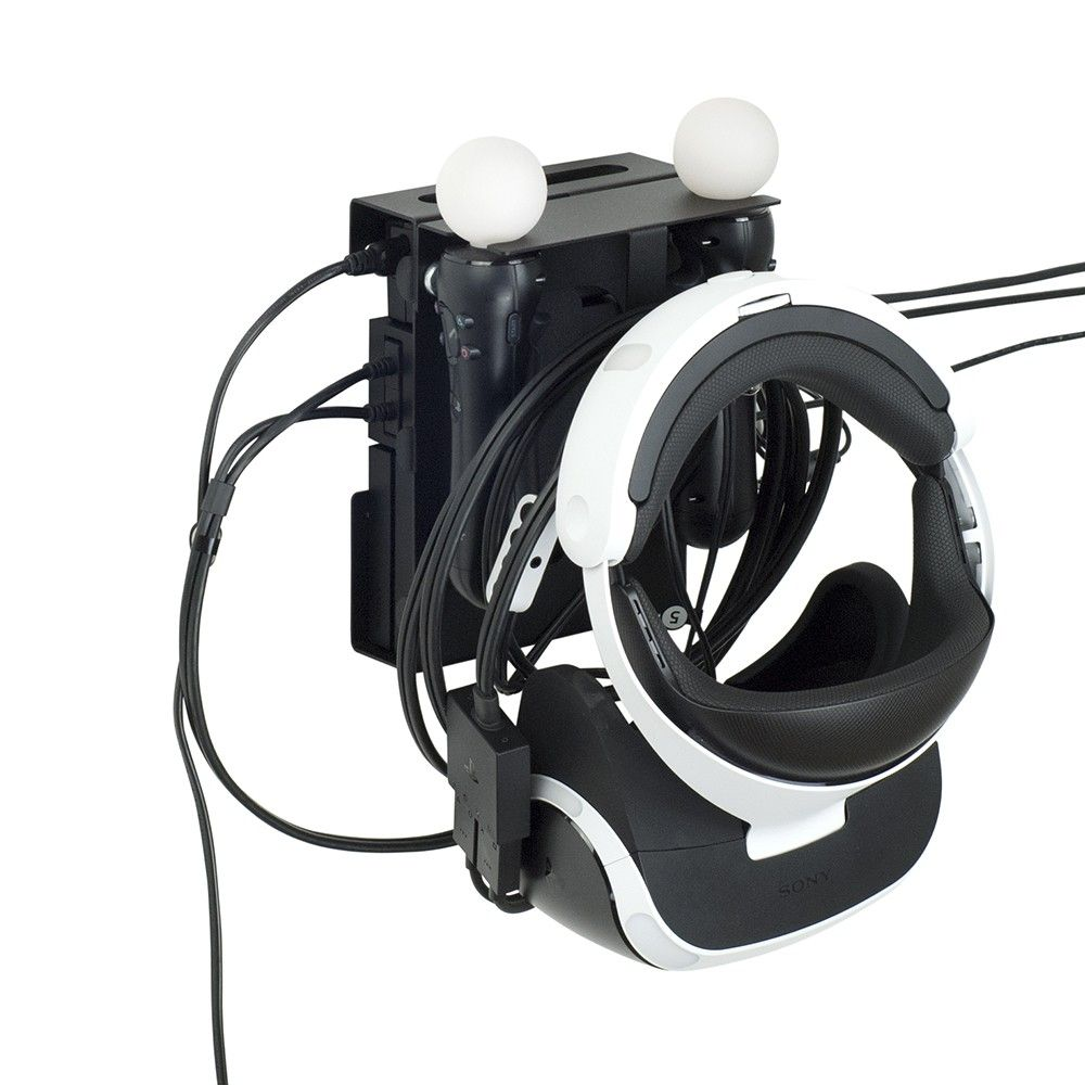 The Perfect Mount For Your Videogame Passion Borangame Ps4 Vr Viewer And Controller Wall Mount