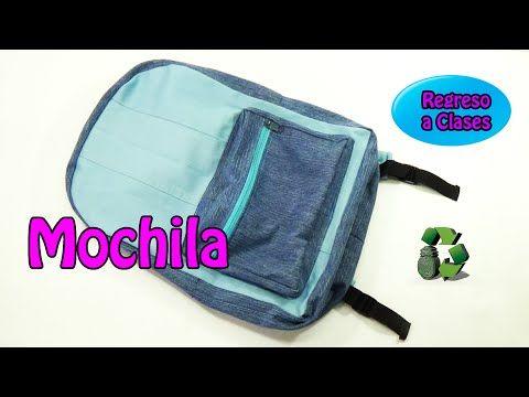 162 manualidades como hacer una mochila reciclaje - Youtube manualidades para el hogar ...